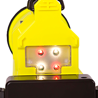 Lighthawk GEN II LED rear signalling lights - flashing red and white